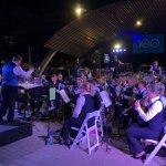KLM Orkest concert tijdens Punda Vibes, Willemstad, Curaçao op 14 november 2019.