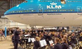 KLM Orkest tijdens KLM Experience 2019.