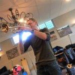 KLM Orkest repeteert met Ruud Breuls