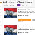 Dutch Rock Medley nu verkrijgbaar bij Bronsheim Music!